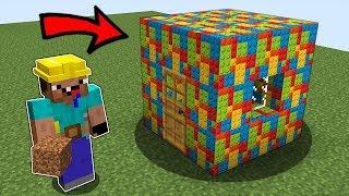 Нуб Строитель ПОСТРОИЛ ДОМ ИЗ ЛЕГО - LEGO Дупло в Майнкрафт ! Неудачная Профессия Нуба и Троллинг!