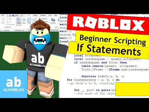 Roblox If Statements Tutorial - How To Script On Roblox For