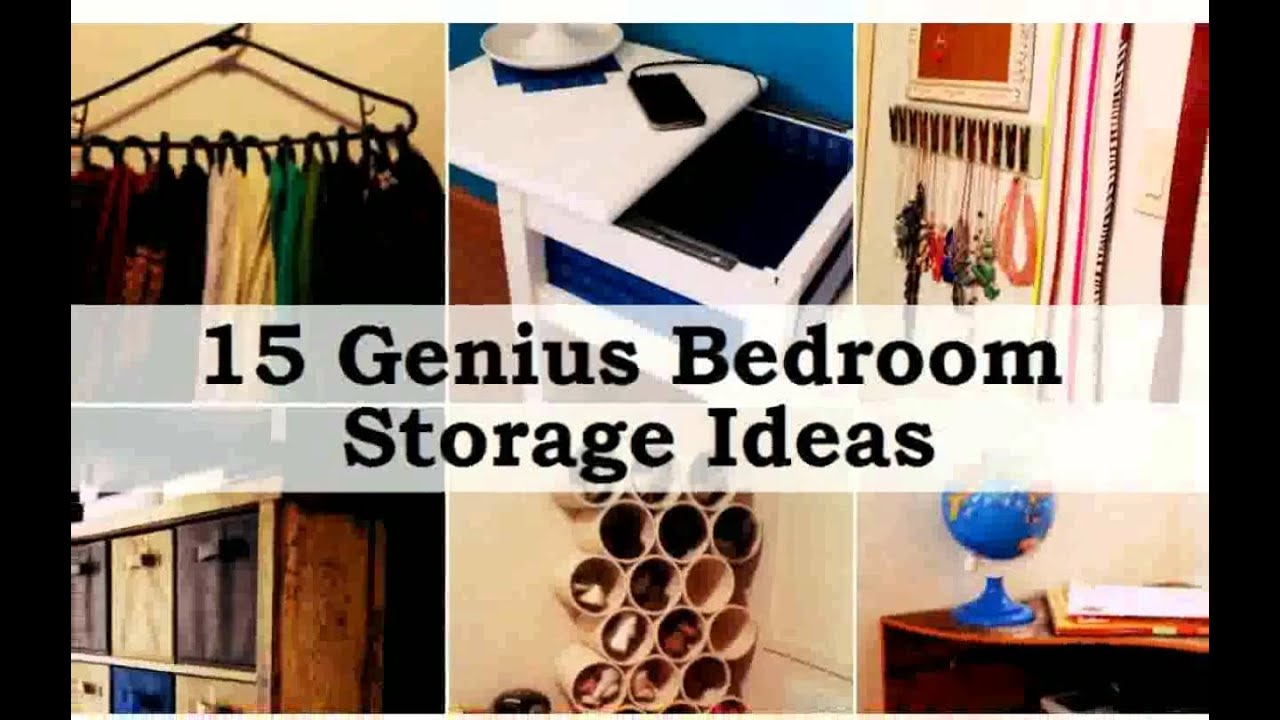 Storage For A Small Bedroom Storage Ideas For Small Bedrooms Photos New Youtube