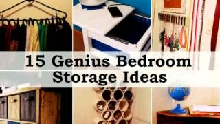 Storage Ideas For Small Bedrooms -  Photos New