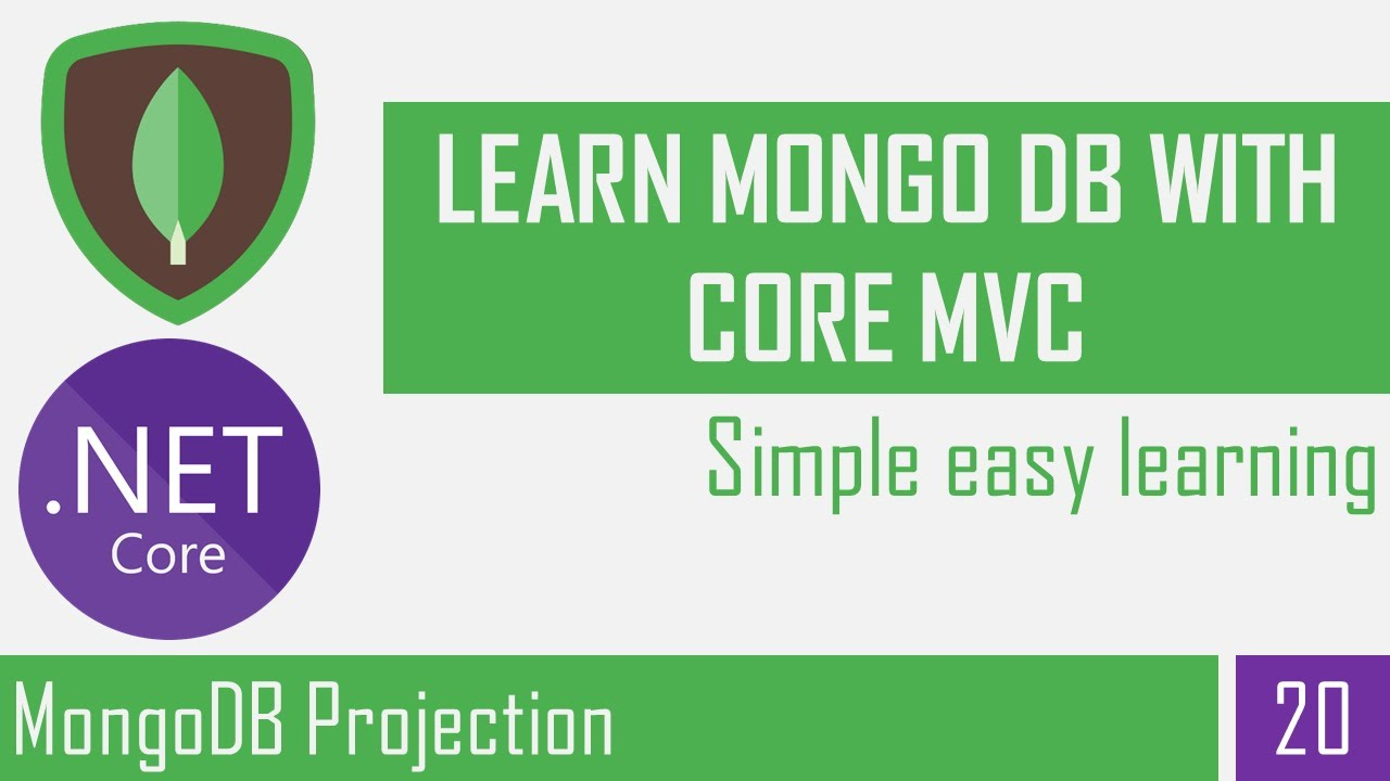How to use MongoDB Projection | What is Projection in MongoDB | Asp.Net Core