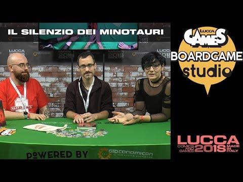 [Lucca Comics & Games] Boardgame Studio: Il Silenzio dei Minotauri