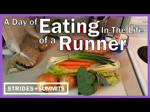 A Day's Eating in the Life of a Runner