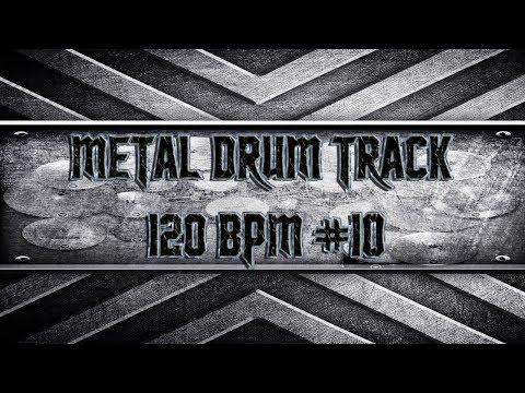 American Metal Drum Track 120 BPM (HQ,HD)