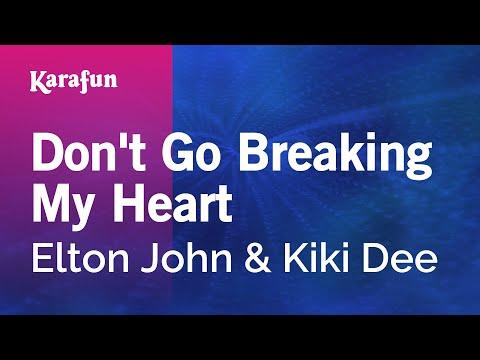 Karaoke Don't Go Breaking My Heart - Elton John *