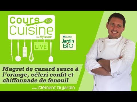 cours-de-cuisine-:-magret-de-canard-sauce-à-l'orange,-céleri-confit-et-chiffonnade-de-fenouil