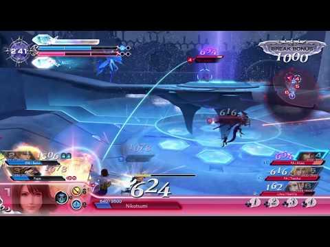 Dissidia NT - Yuna Great Whirl Triple Kill