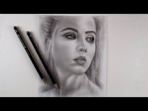 drawing-a-portrait-with-graphite-pencils---how-to-draw