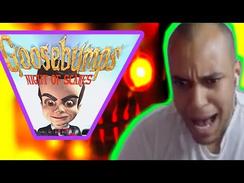 Goosebumps Night of Scares SSSCCCAAARRYYY SCARY GamePlay!!!