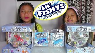 Lil' Fishys Motorised Water Pets Aquarium Playsets - Kids' Toys