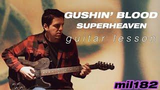 Superheaven - Gushin' Blood Guitar Lesson