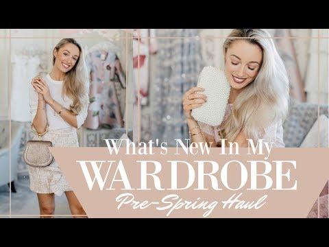WHAT'S NEW IN MY WARDROBE // Pre-Spring Haul  // Fashion Mumblr