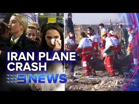 Ukrainian plane shot
