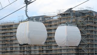 A Coronado Springs & Riviera Resorts Construction Update Featuring The Disney Skyliner Gondolas!