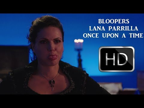 Lana Parrilla  Once Upon A Time  Bloopers 17