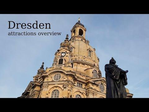 Top Tourist Attractions in Dresden: Innere Altstadt, Neumarkt, Frauenkirche, Hofkirche, Theaterplatz