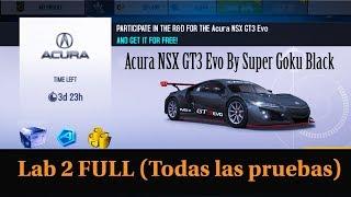 Acura NSX GT3 Evo R&D | Lab 2 FULL | Asphalt 8
