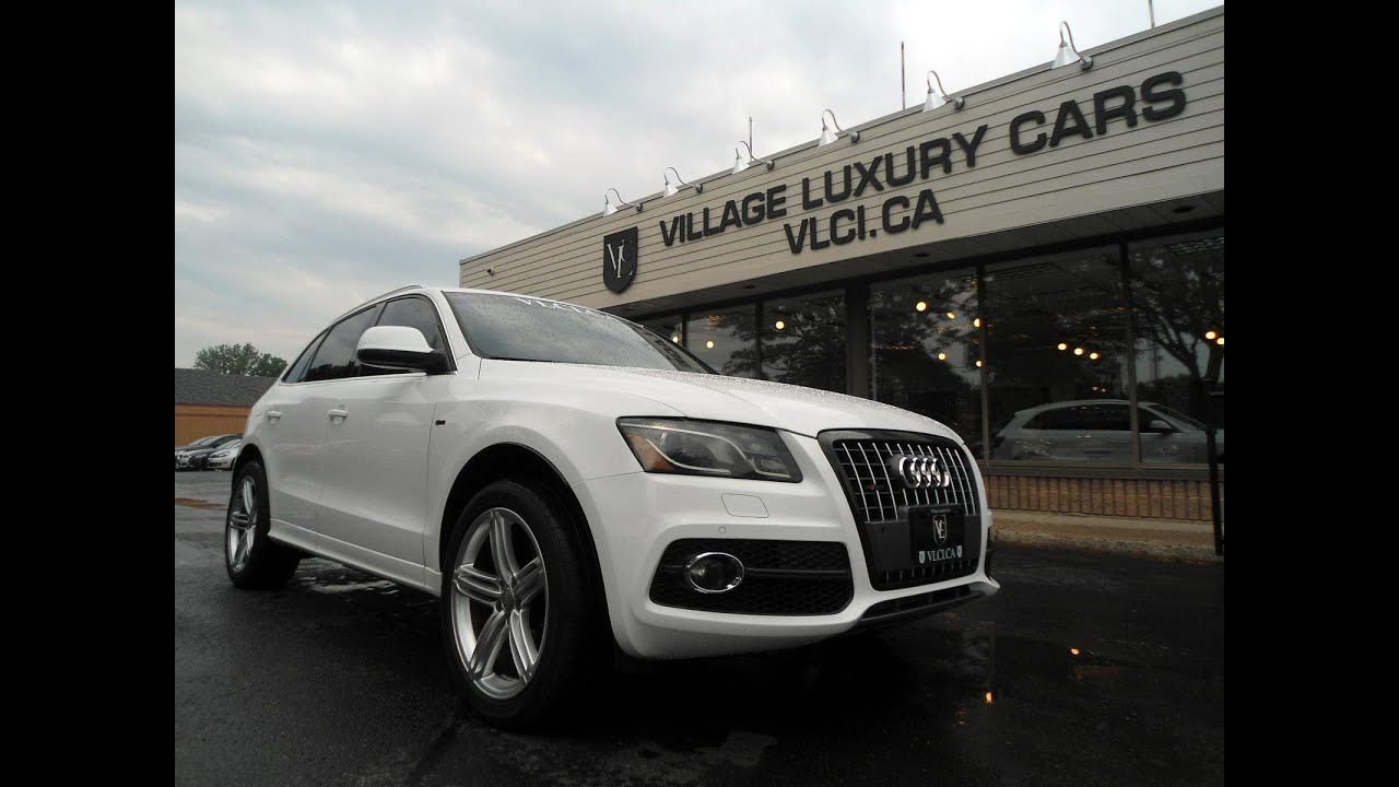 2011 Audi Q5 S Line Custom In Review Village Luxury