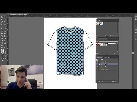 Illustrator: Lesson 9 (layering patterns and fills together) | Design eLearning Tutorials