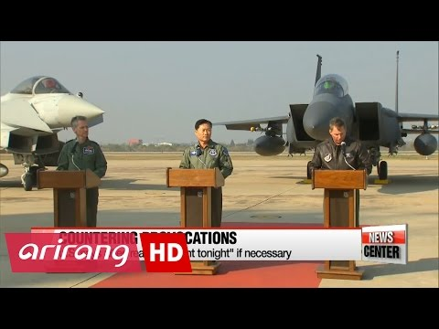 S. Korea, U.S., Britain conduct first joint air defense exercise