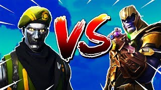 "New ""DIECAST"" Skin Gameplay Solo Win VS THANOS (Get Rekt Son) 