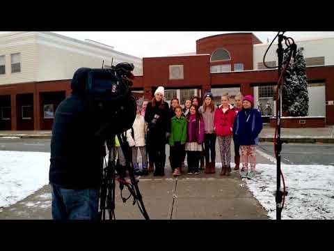 Oxford Maine Elementary School 2018 Chanel 8 morning News