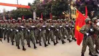 Duyệt binh kỷ niệm 60 chiến thắng Điện Biên Phủ 7/5/1954-7/5/2014