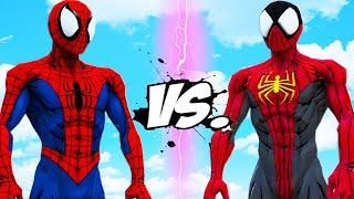 SPIDER-MAN VS SPIDERMAN PHOENIX SUIT - EPIC BATTLE