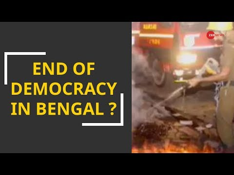 End of Democracy in West Bengal to defeat Modi ?