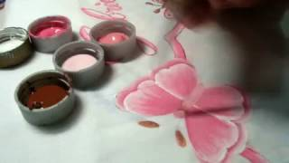 Como pintar borboletas (parte 1)