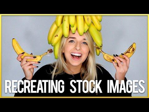 RECREATING STOCK PHOTOS