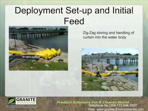 Granite Environmental: Silt Curtain And Turbidity Barrier In