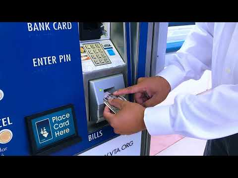 How To Buy A Clipper Card From A VTA Ticket Vending Machine