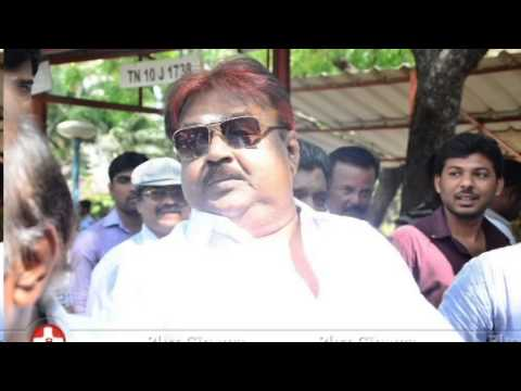 Vijayakanth Contravisial speech over Jaya Tv News reporter