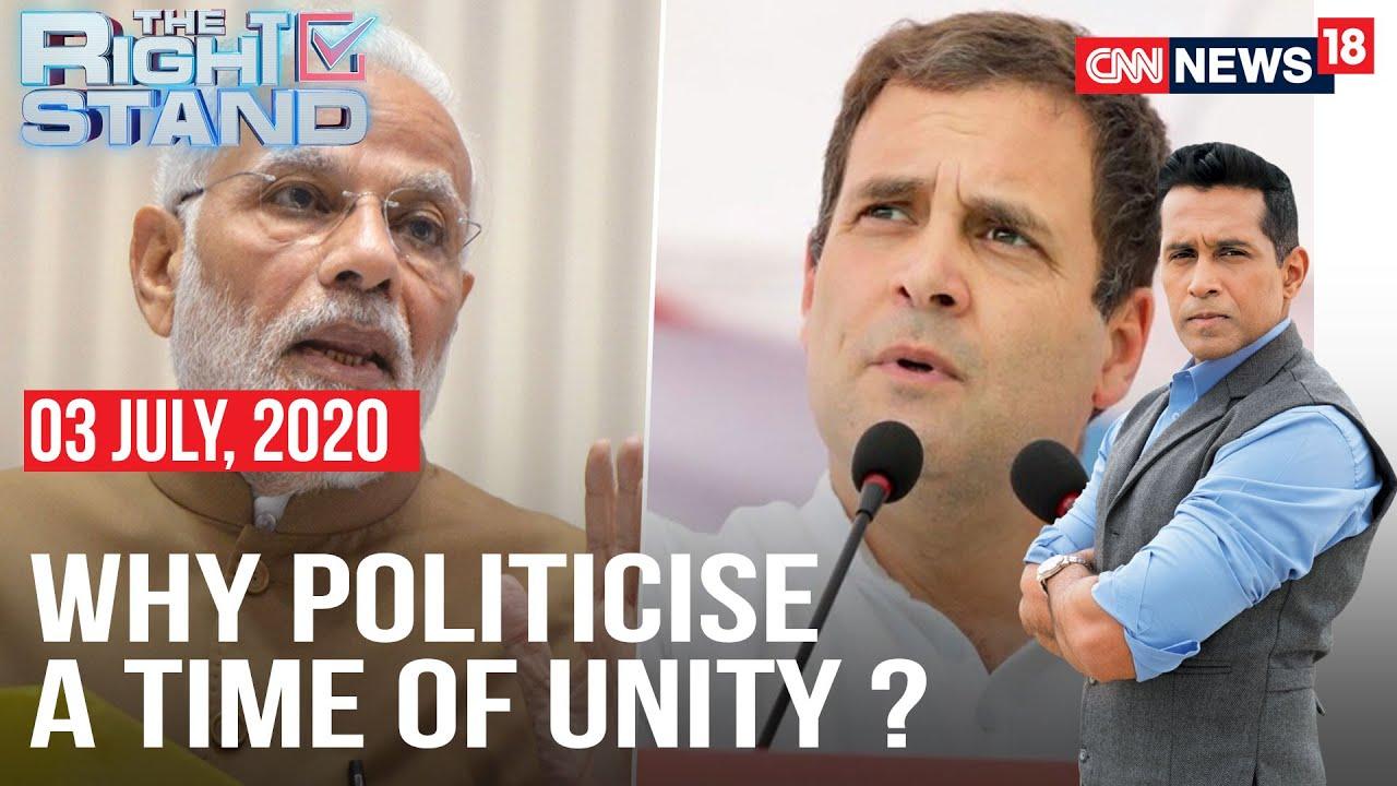 Rahul Gandhi Politicises PM Modi's Ladakh Visit | The Right Stand With Anand Narasimhan | CNN News18