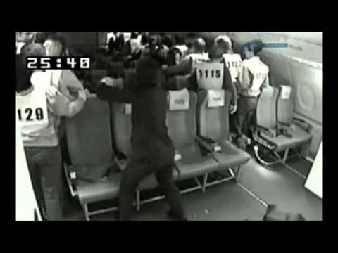 Airbus A380 Evacuation Test Tv