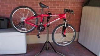 CXWXC Bike Repair Stand Shop Home Bicycle Mechanic Maintenance Rack