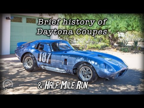 Daytona Coupe History and Standing Half a Mile Run of CSX2300 Aluminum Replica