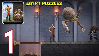 Evony the king's return All puzzles Egypt levels 1 - 20 Gameplay Walkthrough part 1 [Android iOS] screenshot 2