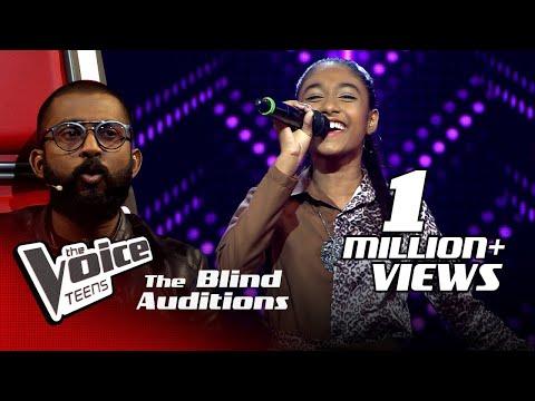 Shakya Nethmi | Ravana (රාවණා) | Blind Auditions | The Voice Teens Sri Lanka