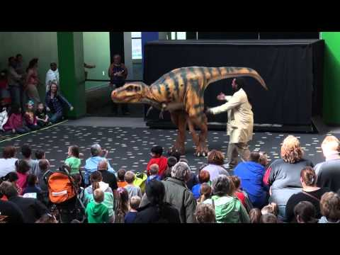 Bucky the T. rex Lives! | The Children's Museum of Indianapolis