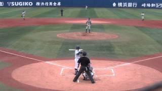20140813 明豊中学 vs 横須賀ファイターズ(全日本少年・準々決勝)