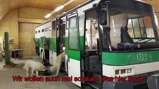 Justizbus- Umbau/Ausbau zum Wohnmobil Video 1