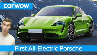 Porsche's Tesla P100D – the new 761hp Taycan EV!