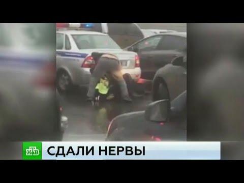 Уфа. Избиение полицейских сняли на видео