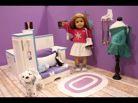 6cf550aed American Girl Doll Figure Skater Mia St. Clair Bed Room ~ GOTY 2008 ...