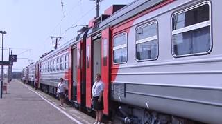 Скоростная электричка «Уфа - Кандры» ждет пассажиров