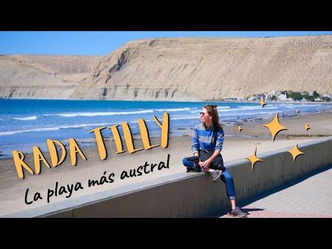 RADA TILLY: La PLAYA Más AUSTRAL 🏖️   Así Son Las Playas En PATAGONIA, Argentina! 🐚