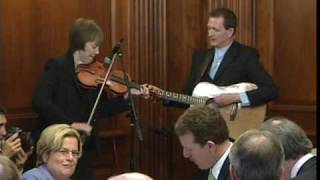 Liz Carroll and John Doyle performing for President Obama - St. Patrick