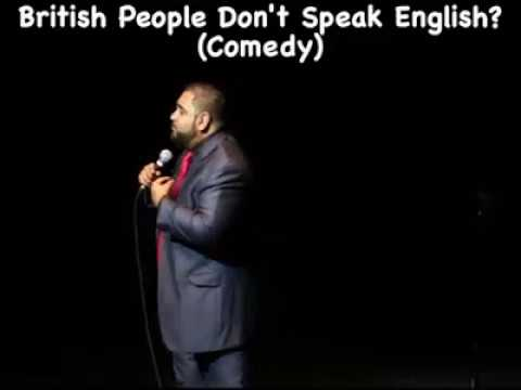 British People Don't Speak English? (comedy) - Kavinjay